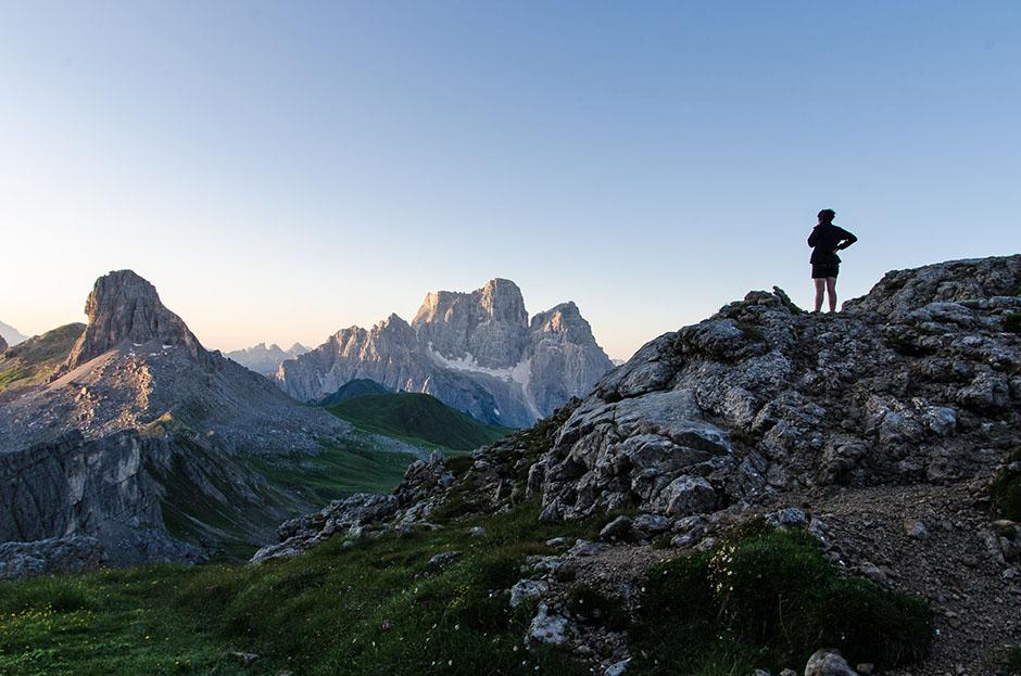 Il Monte Pelmo e il Becco di Mezzodì