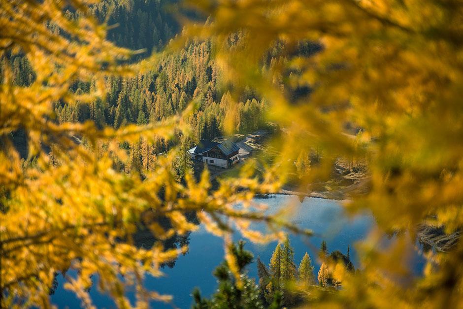 Lago di Federa e rifugio Croda da Lago