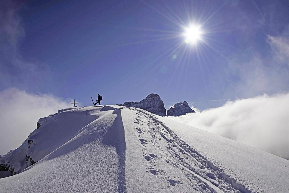 Scialpinismo nel gruppo della Croda da Lago
